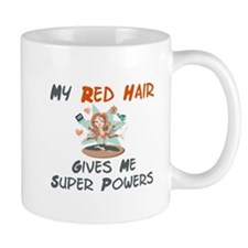 Red hair gives super powers! Mug