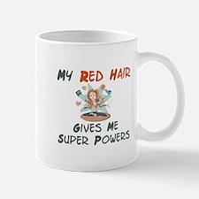 Red hair gives super powers! Mug