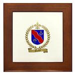 GARAULT Family Crest Framed Tile