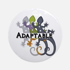 Chameleon Adaptable Ornament (Round)