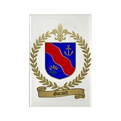 GARAULT Family Crest Rectangle Magnet