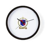 GARAULT Family Crest Wall Clock