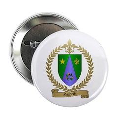 GAUDETTE Family Crest Button