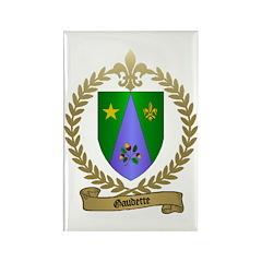 GAUDETTE Family Crest Rectangle Magnet (10 pack)