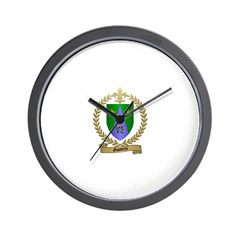 GAUDETTE Family Crest Wall Clock