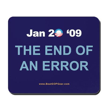 """End of an Error"" Mousepad"