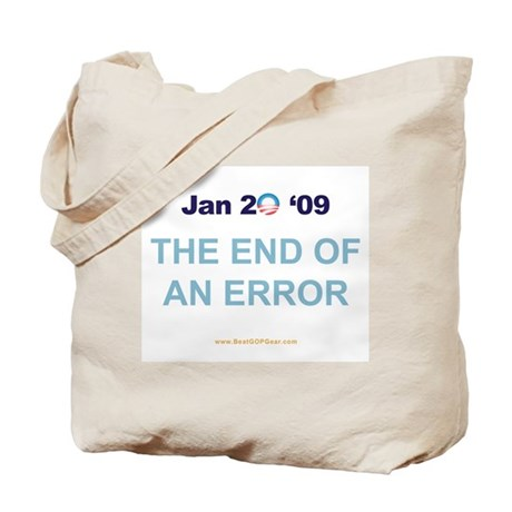 """""""End of an Error"""" Tote Bag"""