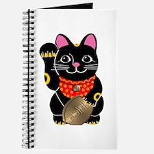 Black Maneki Neko Journal
