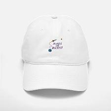 Mars or Bust! Baseball Baseball Cap