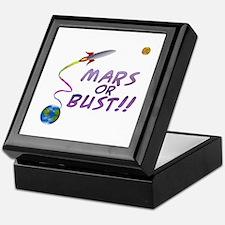 Mars or Bust! Keepsake Box