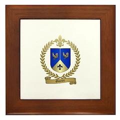 GAUTIER Family Crest Framed Tile