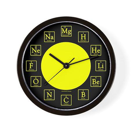 Periodic Table Clocks Periodic Table Wall Clocks Large Modern