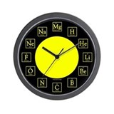 Periodic table of the elements Wall Clocks