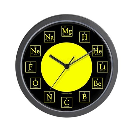 Chemistry Geek Wall Clock