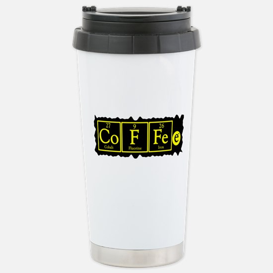 Coffee - Chemistry Geek Stainless Steel Travel Mug