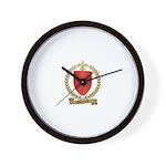 GAUTHREAU Family Crest Wall Clock