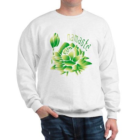 Go Green Lotus Sweatshirt