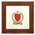 GAUTROT Family Crest Framed Tile