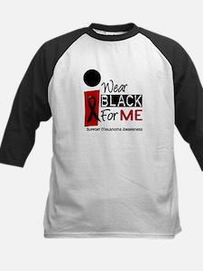 I Wear Black For Me 9 Kids Baseball Jersey
