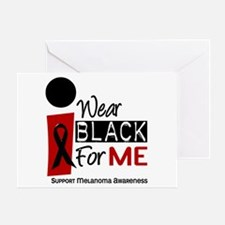 I Wear Black For Me 9 Greeting Card