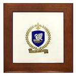 GENEST Family Crest Framed Tile