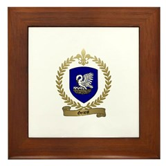 GENEST Family Crest Framed Tile