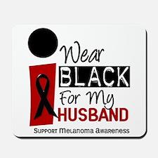 I Wear Black For My Husband 9 Mousepad