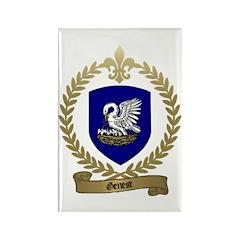 GENEST Family Crest Rectangle Magnet (100 pack)