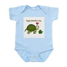 Hoppy Valentine's Infant Bodysuit