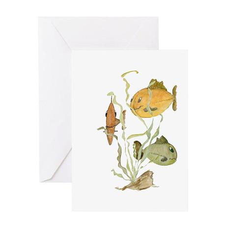 Fish Hangout Greeting Card