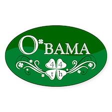 ::: Irish O'bama 44th President ::: Oval Decal