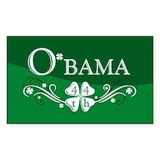 ::: Irish O'bama 44th President ::: Decal
