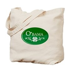 ::: Irish O'bama 44th President ::: Tote Bag