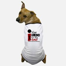 I Wear Black For My Dad 9 Dog T-Shirt