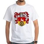 Timmers Family Crest White T-Shirt
