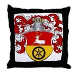 Timmers Family Crest Throw Pillow