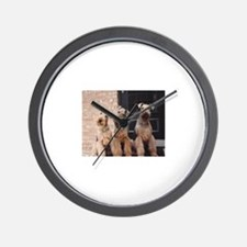 Unique Airedale terrier Wall Clock