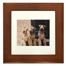 Cute Yankees Framed Tile