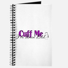 Policewife Cuff Me Journal