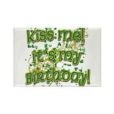 Festive Irish Birthday Rectangle Magnet