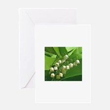 Cute Lily of the valley Greeting Card