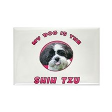 My Dog is the Shih Tzu Rectangle Magnet