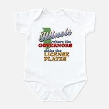 Corrupt Illinois Infant Bodysuit