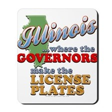 Corrupt Illinois Mousepad