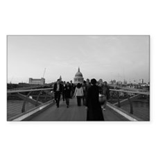 London Rectangle Decal