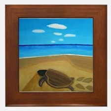 Return of the Turtle Framed Tile