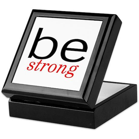 Be Strong Keepsake Box