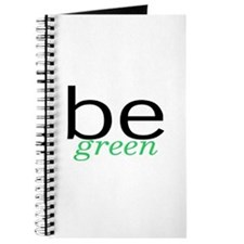 Be Green Journal
