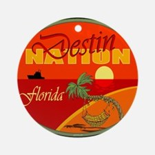 Destin Florida Ornament (Round)