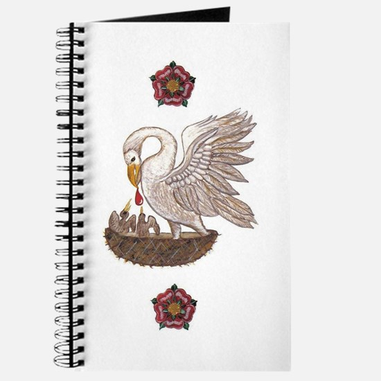 Royal Pelican Rose Journal